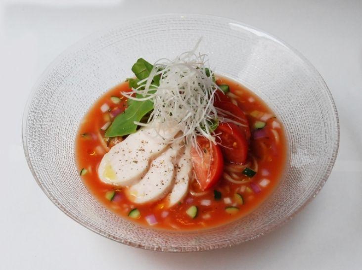 ヘルシーさっぱり トマト冷麺