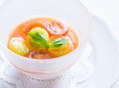 完熟トマトのババロア
